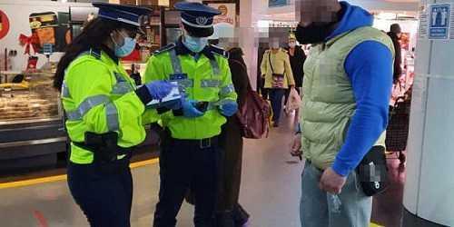 Noi acțiuni ale polițiștilor pentru prevenirea răspândirii și limitarea infectării cu virusul SARS COV-2 5