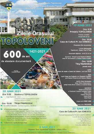 zilele orasului Topoloveni