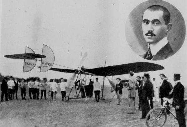 Primul avion romanesc, construit de Aurel Vlaicu