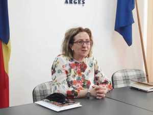 Prof. Alina Manea, Inspector Școlar General Argeș