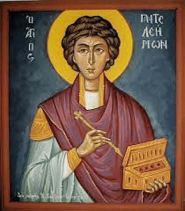 Sfântul Mucenic Pantelimon, ocrotitorul medicilor