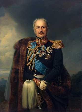 Contele Pavel Dmitrievici Kiseliov (Pavel Kiseleff), portret de Franz Krüger, 1851